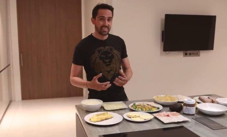 ) How does a cyclist eat in the Tour de France? By Alberto Contador