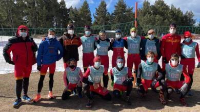 Grupos de edad españoles en el Campeonato del Mundo de Triatlón de Invierno