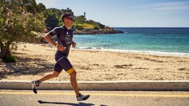 Triathlon Portocolom running segment