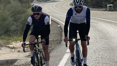 Alberto Contador en la salida a la Vuelta a Madrid
