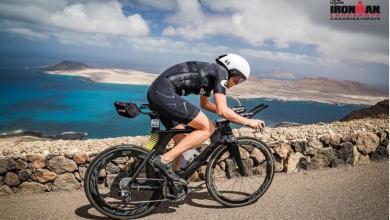 Segmento ciclista del IRONMAN Lanzarote
