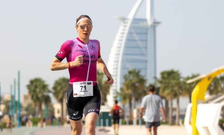 Daniela Ryf en el IRONMAN 70.3 Dubai