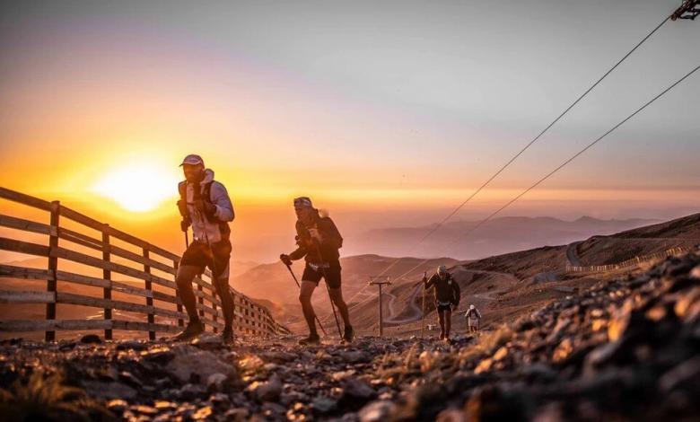 Imagen al amanecer del Ultra Sierra Nevada