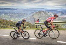 Subida al Angliru en la Vuelta a España