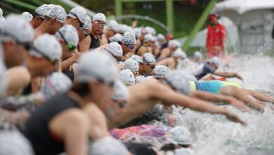 Salida natación del Challenge Taiwan