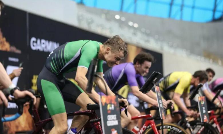 Segment cycliste sur le roller des SLT Arena Games