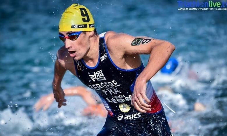 Léo Bergere remporte la Coupe d'Europe de triathlon de Melilla