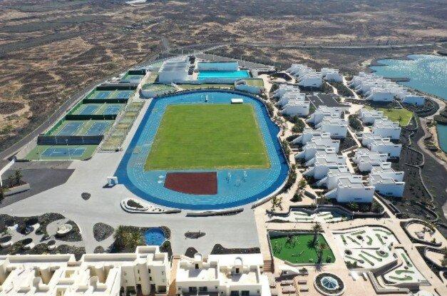 Aerial view of Club La Santa