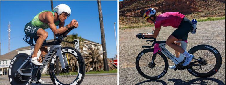 Lionel Sanders y Daniela Ryf ironman 70.3 St George