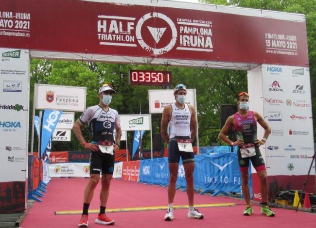 Resultados Half Triathlon Pamplona Iruña 2021