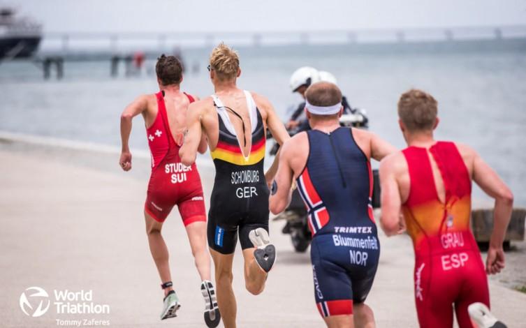 video summary world cup triathlon Lisbon men's