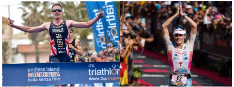 Alistar Brownlee and Lucy Charles will be at the WTS in Leeds
