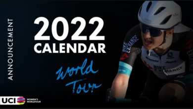 Calendrier cycliste UCI 2022