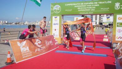 Spanish SuperSprintp Triathlon Championship for 2x2 Clubs