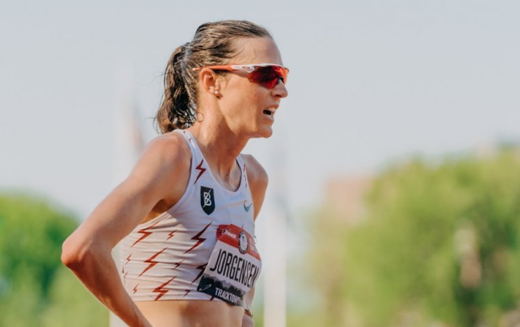 Gewn Jorgensen does not get the square in the 5.000 meters for Tokyo