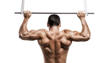 Pull-ups, swimmers exercise