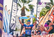 ICAN Triathlon Gandia 2021 hangs the Sold Out poster 4 months before the test