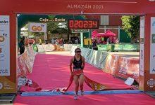 Natalia Hidalgo wins the Almazán Triathlon