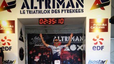 Víctor del Corral gana el Altriman Olímpico