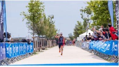 Schnellste Triathleten in diesem Jahr beim olympischen Distanzlauf