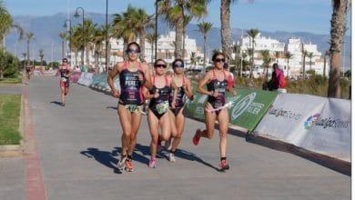Roquetas de Mar is preparing for five major national triathlon events on September 11 and 12