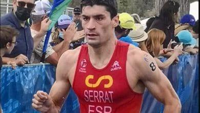 Antonio Serrat 8e au championnat du monde de triathlon