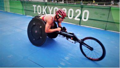 Eva Moral médaille de bronze au paratriathlon olympique