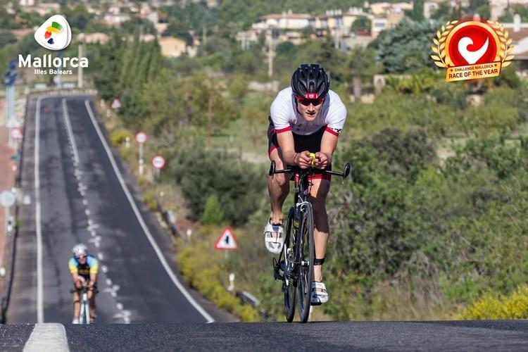 Segmento ciclista del Challenge Peguera Mallorca