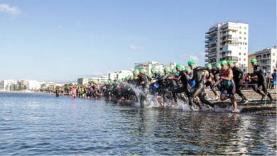 3.000 triathletes will be in Roquetas de Mar in the 5 FETRI competitions
